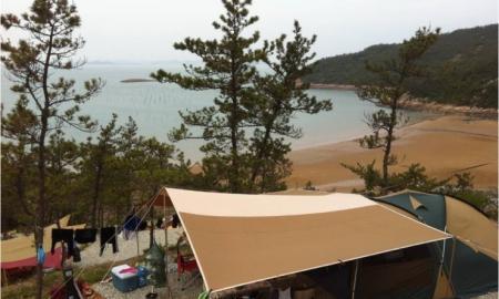 몽돌 바다 캠핑장 작은이미지
